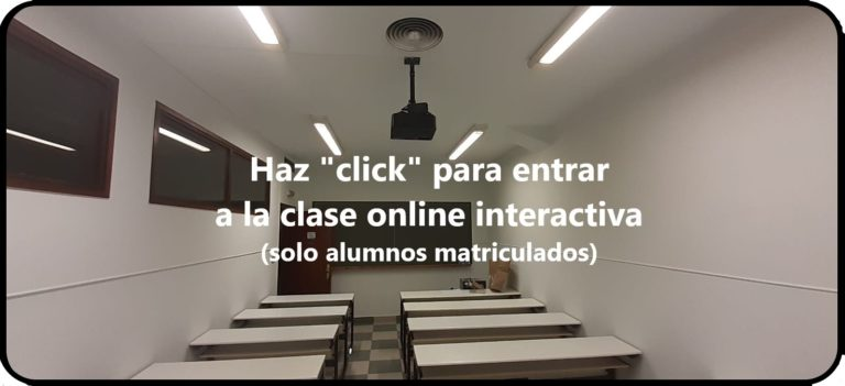 Acceso a las aulas virtuales